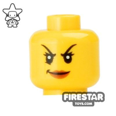 LEGO Mini Figure Heads - Arched Eyebrows