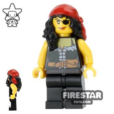 LEGO Pirate Mini Figure - Pirate Chess Queen