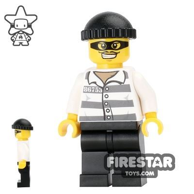 LEGO Holiday Mini Figure - Prisoner - Burglar with Mask