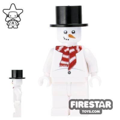 Custom Design Mini Figure - Winter Christmas Snowman