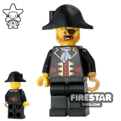 LEGO Pirate Mini Figure - Pirate Chess King