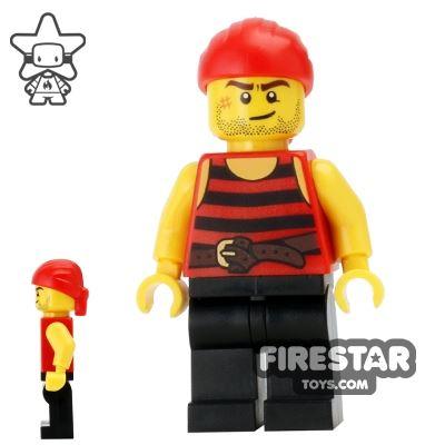 LEGO Pirate Mini Figure - Pirate 6
