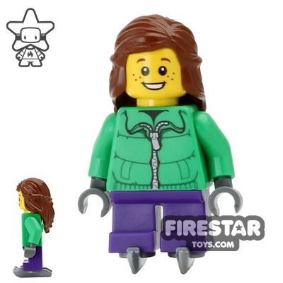 LEGO Holiday Mini Figure - Christmas Ice Skater