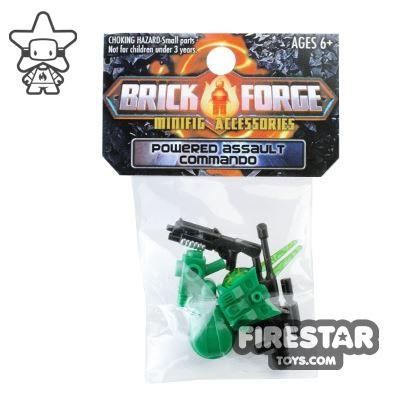 BrickForge Accessory Pack - Powered Assault Commando - Green