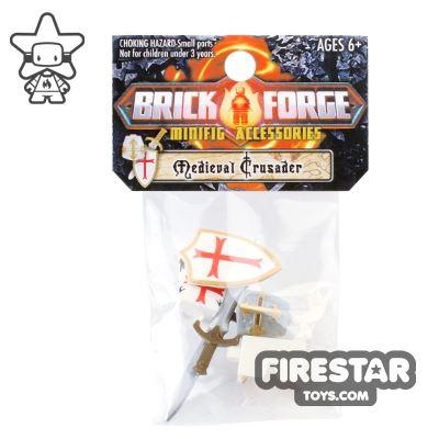 BrickForge Accessory Pack - Crusader - White Templar