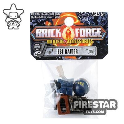 BrickForge Accessory Pack - Tactical - FBI Raider