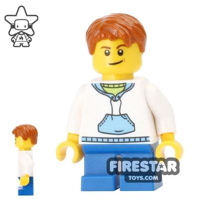 LEGO Holiday Mini Figure - Boy - Crooked Smile