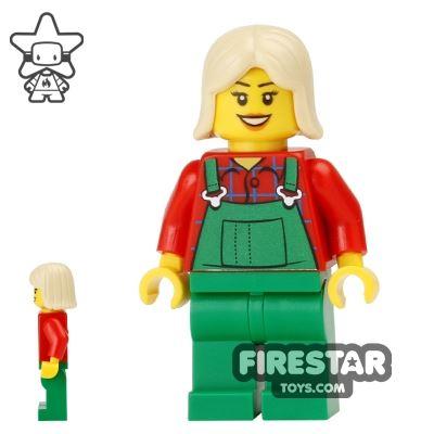 LEGO Holiday Mini Figure - Farmer - Overalls