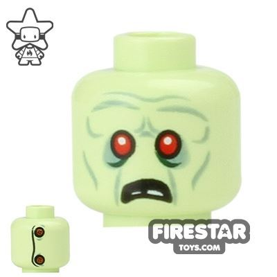 LEGO Mini Figure Heads - Zombie