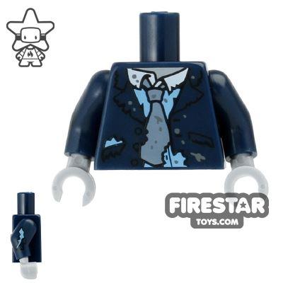 LEGO Mini Figure Torso - Zombie Suit