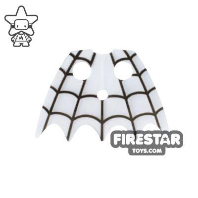 LEGO Cape - Cobweb Collar - Trans Clear Plastic
