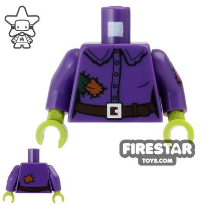 LEGO Minifigure Torso Crazy Witch