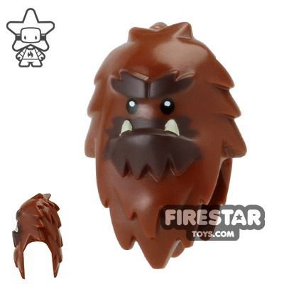 LEGO Mini Figure Heads - Bigfoot