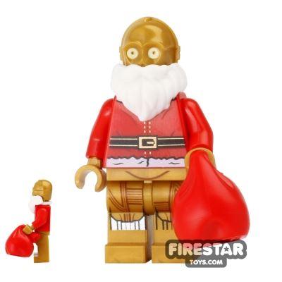 LEGO Star Wars Mini Figure - Christmas Santa C-3PO