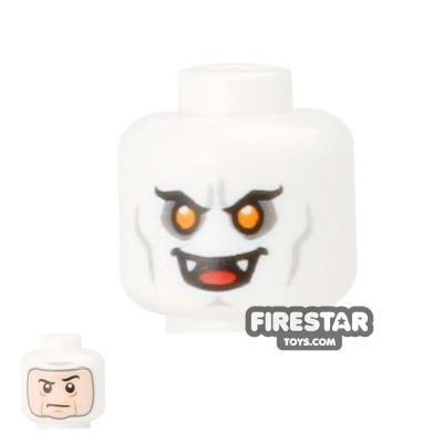 LEGO Mini Figure Heads - Vampire / Balaclava