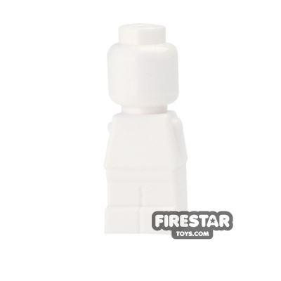 LEGO Games Microfig - Plain - White