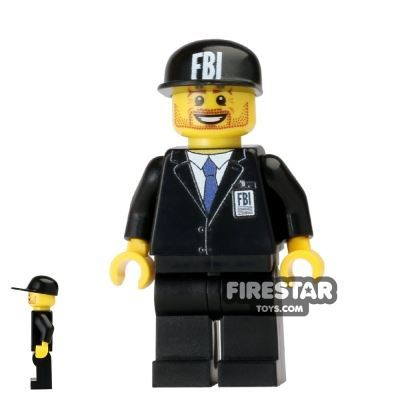 Custom Design Mini Figure - FBI Agent
