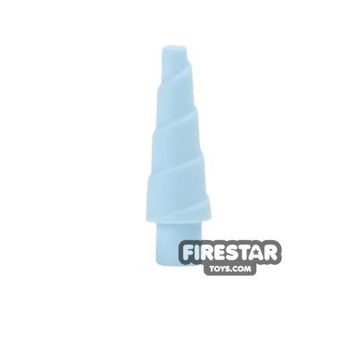 LEGO - Unicorn Horn - Bright Light Blue