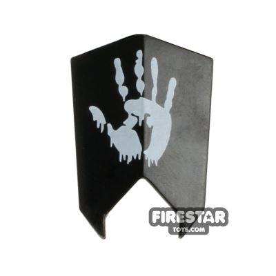 BrickForge - Goblin Shield - Hand Print - Black