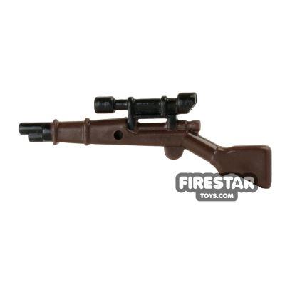 BrickForge - 1903 Springfield Rifle - RIGGED System - Dark Brown and Black