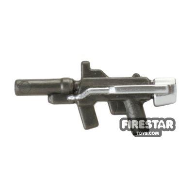 BrickForge - Sub Orbital Machine Gun - Steel and Silver