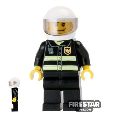LEGO City Mini Figure – Fireman With Helmet