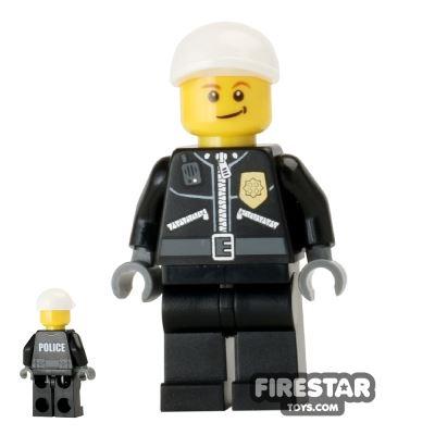 LEGO City Mini Figure - Police - City Uniform and Cap