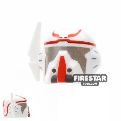 Arealight VIZ Merc Helmet Red Print