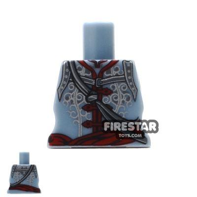 Arealight Mini Figure Torso - Sand Blue - Assassin