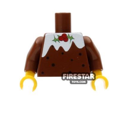 Custom Design Torso - Christmas Jumper - Christmas Pudding