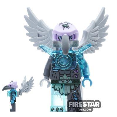 LEGO Legends of Chima Mini Figure - Vornon - Trans-Light Blue Armour