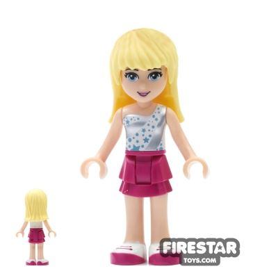 LEGO Friends Mini Figure - Stephanie - Star Print Top