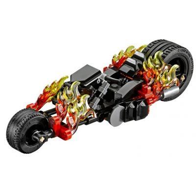 Custom Mini Set - Super Heroes - Ghost Rider Flaming Motorcycle