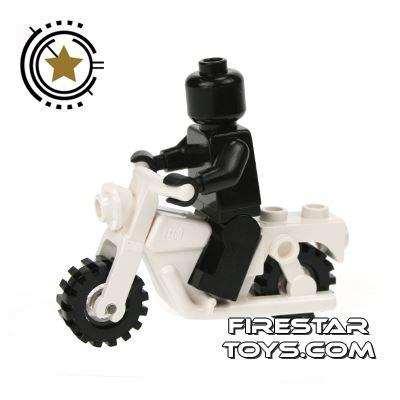 LEGO - White Motorbike