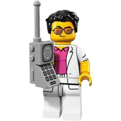 LEGO Minifigures 71018 - Yuppie