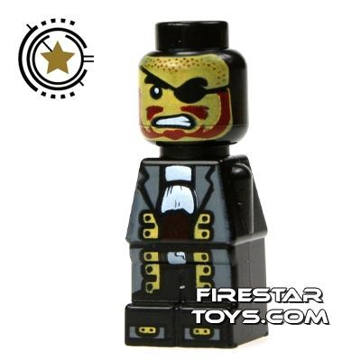 LEGO Games Microfig - Plank Pirate Captain
