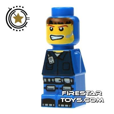 LEGO Games Microfig - Magma Monster Blue
