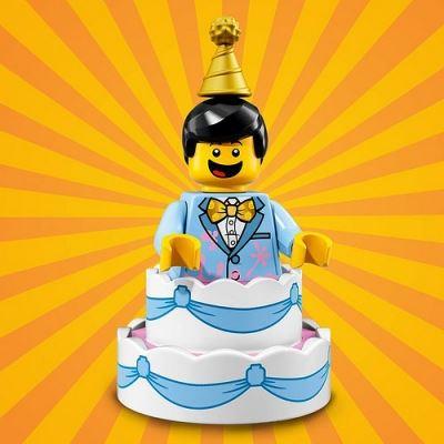 LEGO Minifigures 71021 Birthday Cake Guy