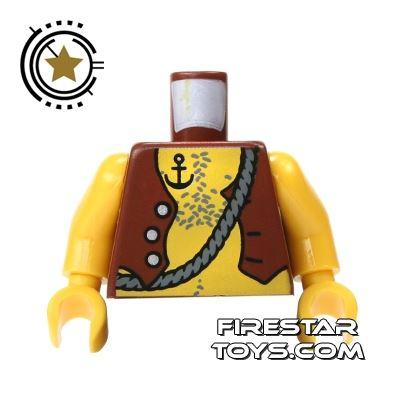 LEGO Mini Figure Torso - Pirate