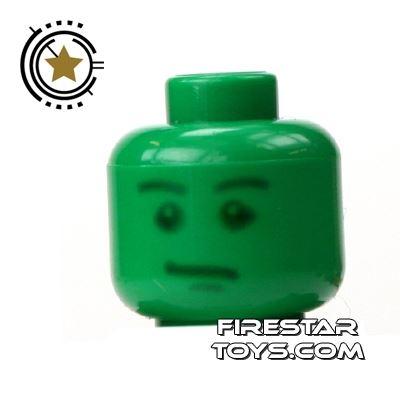 LEGO Mini Figure Heads - Green Army Head