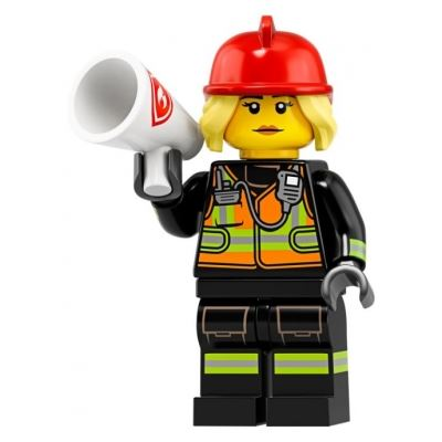 LEGO Minifigures 71025 Fire Fighter