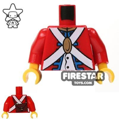 LEGO Mini Figure Torso - Imperial Soldier