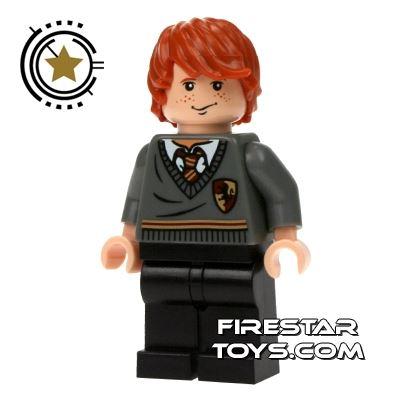 LEGO Harry Potter Mini Figure -  Ron Weasley Black Legs