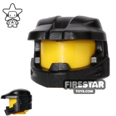 BrickForge - Halo Space Marine Helmet - Black