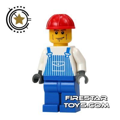 LEGO City Mini Figure - Overalls