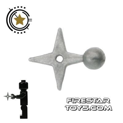 Brick Command - Ninja Star - Gunmetal