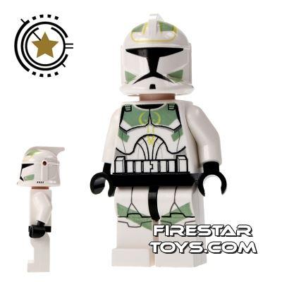 LEGO Star Wars Mini Figure - Clone Commander - Green Markings