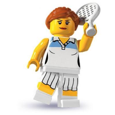 LEGO Minifigures   Tennis Player
