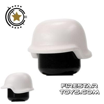 BrickForge - Military Helmet - White