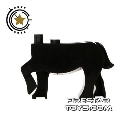 BrickForge Animals Mini Figure - Black Centaur